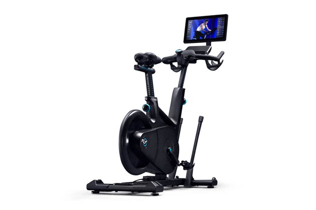 Flywheel home exercise stationary bike