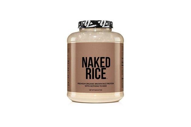 vegan protein powder naked rice protein