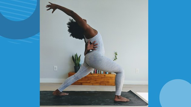 Move 4: Reverse Warrior (Viparita Virabhadrasana)