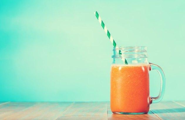 Energizing Sweet Potato Smoothie energizing beverages