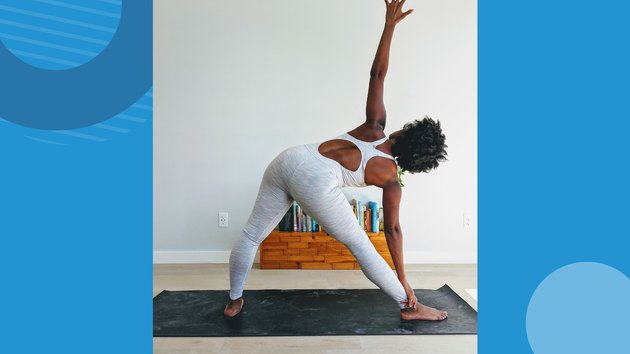 Move 5: Triangle Pose (Utthita Trikonasana)