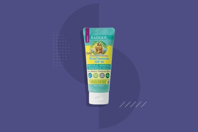 Badger Baby Natural Mineral Sunscreen Cream SPF 30
