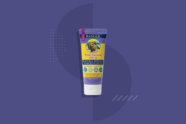 Badger Sunscreen Cream SPF 30 Lavender