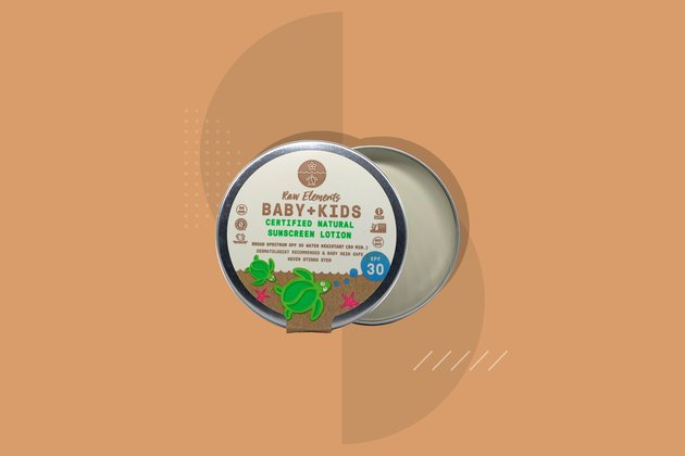 Raw Elements Baby + Kids Sunscreen Lotion Tin SPF 30