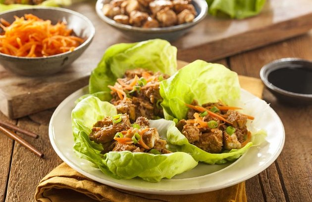 Turkey Lettuce Wraps ground turkey recipes