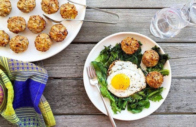 Breakfast Turkey-Apple Sausage Mini Patties ground turkey recipes