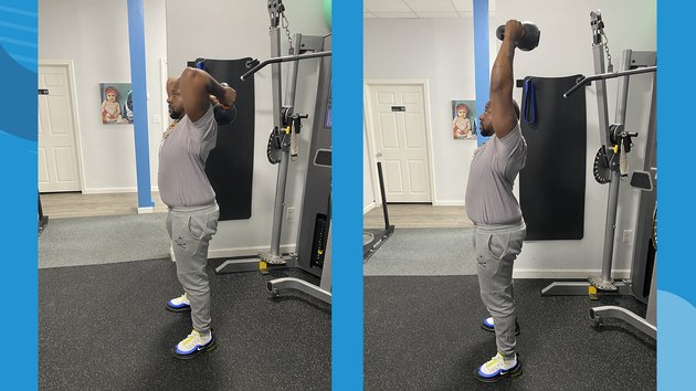 Move 8: Standing Triceps Extensions