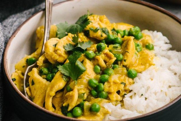 Chicken Curry Greek yogurt dinner recipes