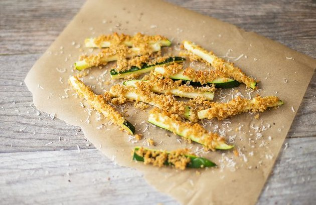 Garlicky Zucchini Fries homemade french fries