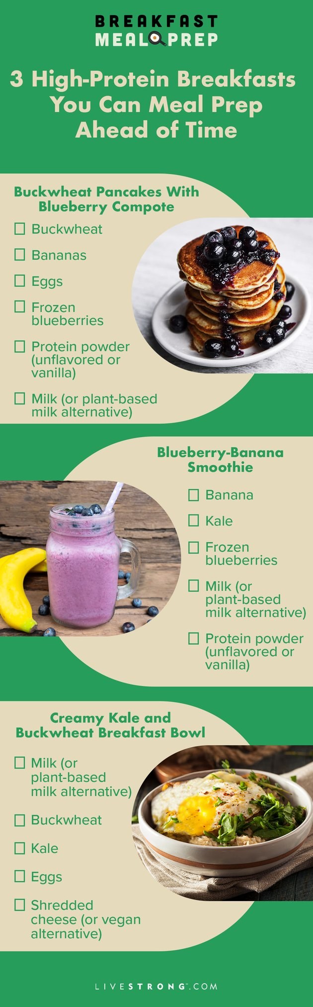 pin for 3 high-protein breakfast recipes