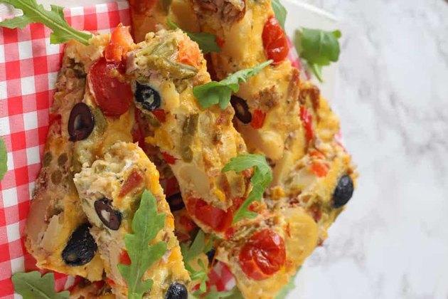 Tuna Nicoise Frittata frittata recipes