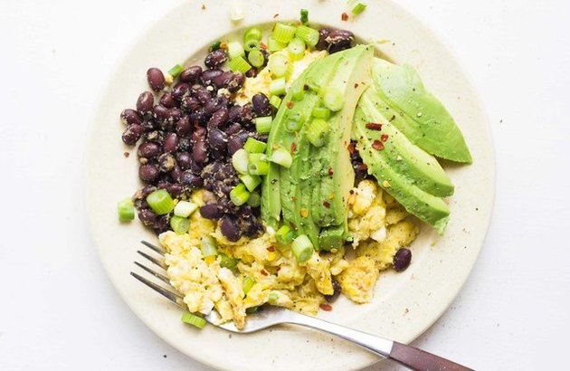 Southwestern Egg Scramble high-protein breakfast