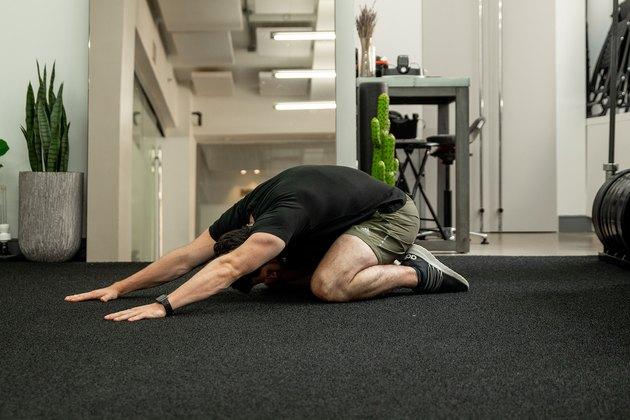 Move 2: Child's Pose