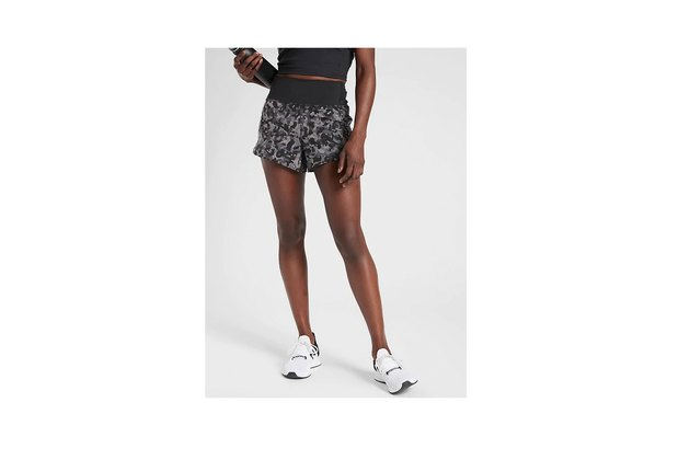 Athleta Printed Running Short