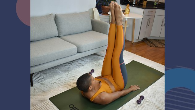 Move 9: Double-Leg Straight Stretch