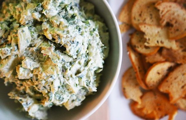 Spinach-Artichoke Dip keto recipes