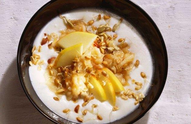 Amped-Up Bircher Microbe Muesli recipe