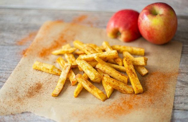 Sweet Apple Fries homemade french fries