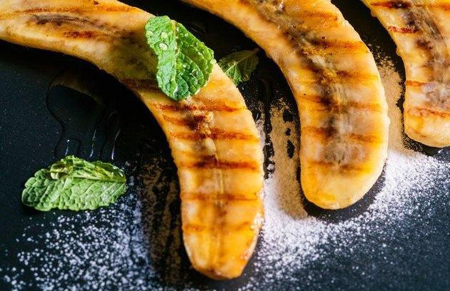 Grilled Banana Split Breakfast Bowl brilliant banana recipe.