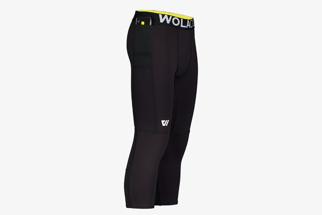 WOLACO Men's Fulton .75 Compression Pants for Running