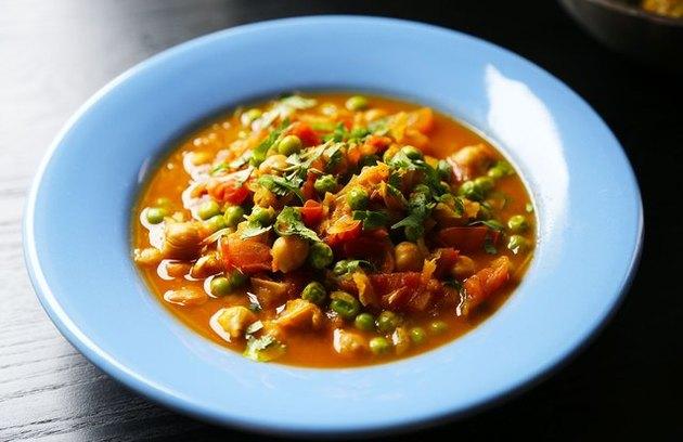 Chana Masala broth-based recipes