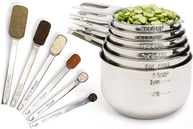 Simply Gourmet Stainless Steel Measuring Cups and Spoons
