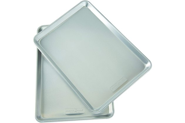 Nordic Ware Natural Aluminum Commercial Baker's Half Sheet (2-Pack)