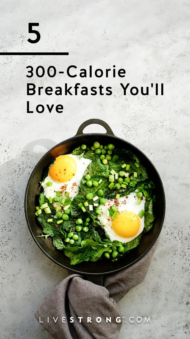 5 300-calorie breakfasts you'll love graphic