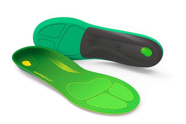 Superfeet's Run Comfort Green Running Insoles