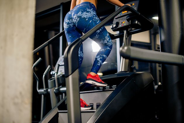 woman doing workout on the Stairmaster