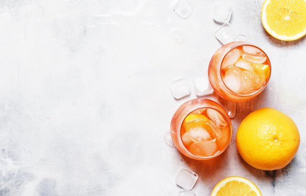 orange wine cooler