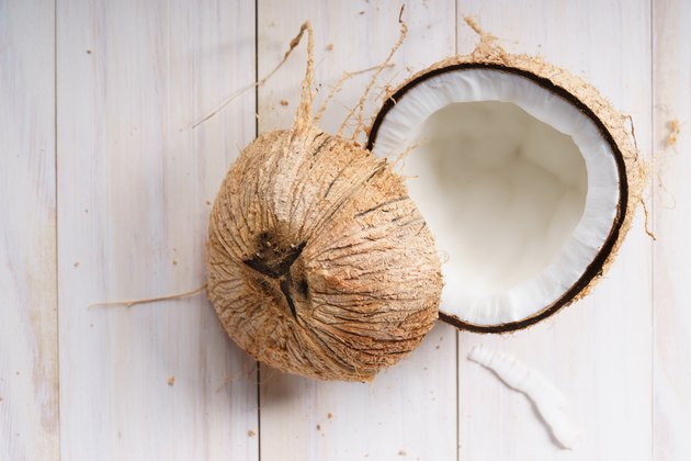 coconut with shell