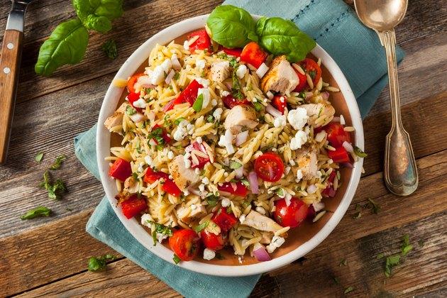Homemade Chicken Orzo Salad