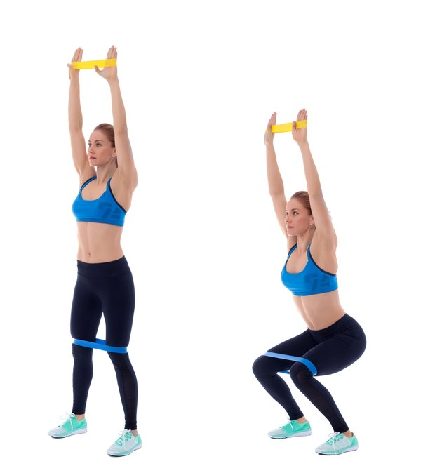 Butt & Thigh Exercises With Bands