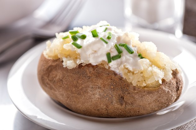 Oven Baked Potato