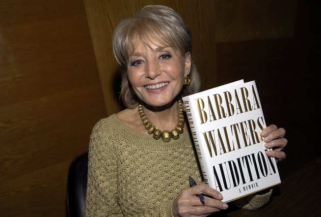 Barbara Walters in Town Hall Los Angeles' Writers Bloc Q&A and Book Signing for 'Audition: A Memoir'