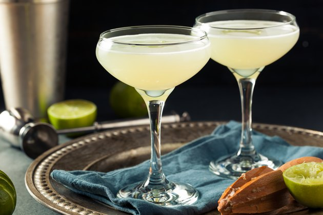 Alcoholic Lime and Gin Gimlet dry january mocktails