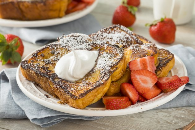 Gourmet Homemade Brioche French Toast