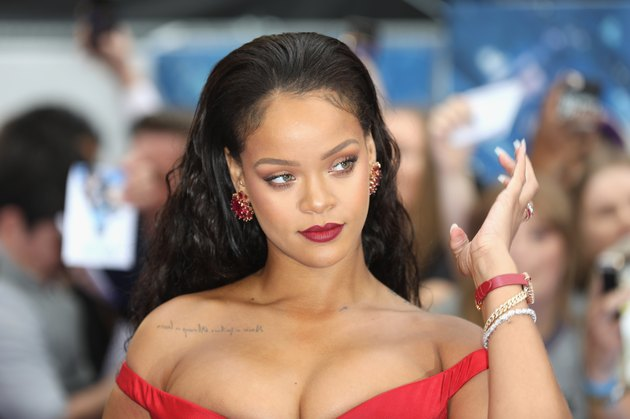 "Rihanna at the ""Valerian And The City Of A Thousand Planets"" European Premiere - Red Carpet Arrivals"