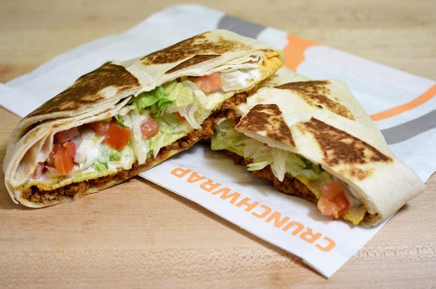 Taco Bell's Crunchwrap Supreme