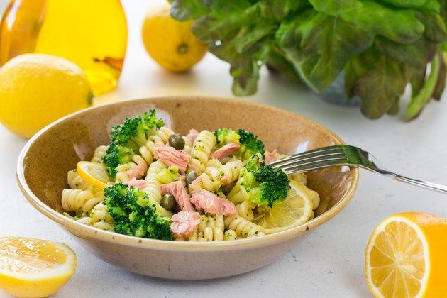 Pasta Tuna Salad Non-Perishable Ingredients Recipe