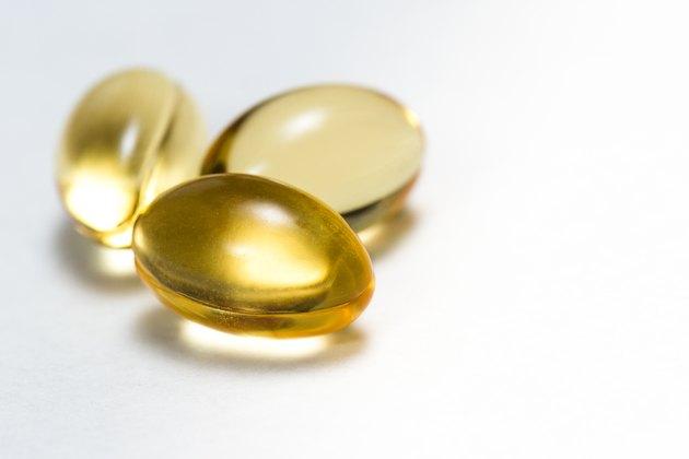 Fish oil capsules