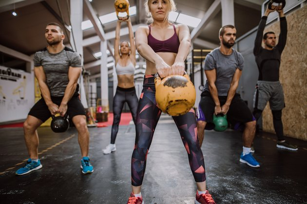 Squatting With Kettlebells