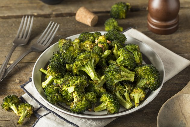 Organic Green Roasted Broccoli Florets
