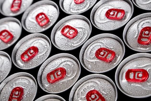 Wet drink cans