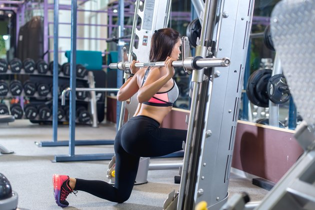 Butt Workout Machines in the Gym