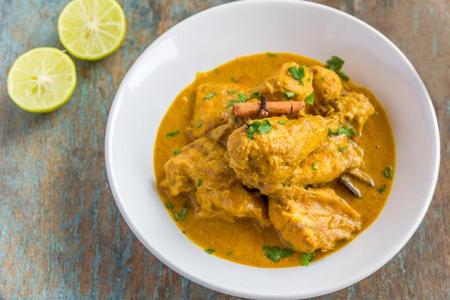 Chicken Korma in a Bowl