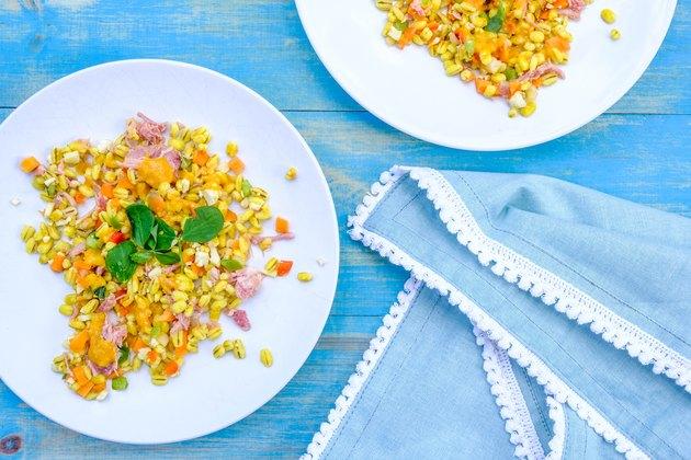 Healthy Summer Ham Hock Salad With Pearl Barley