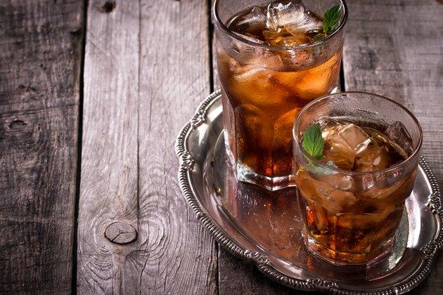 coke and rum