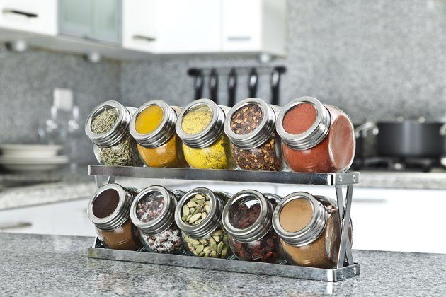 Do spices expire spice rack on modern kitchen countertop